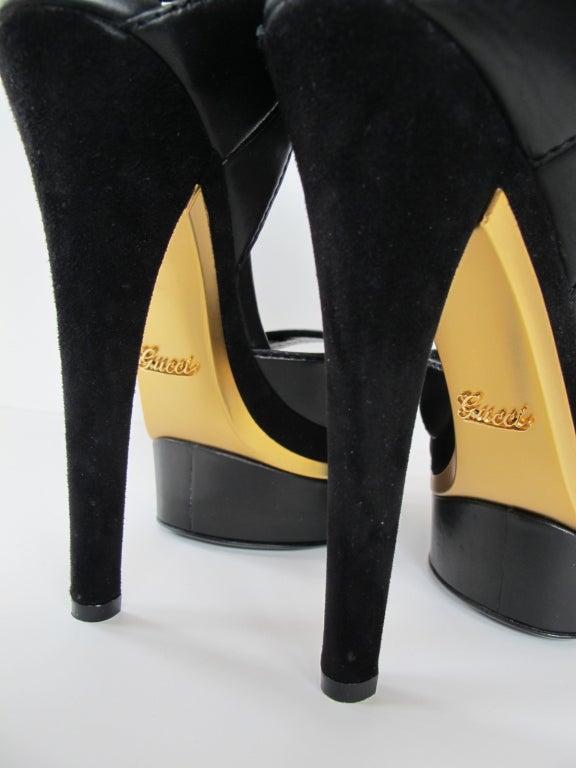 Gucci Iman Platform Sandal At 1stdibs