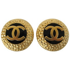 Chanel Faux Earrings