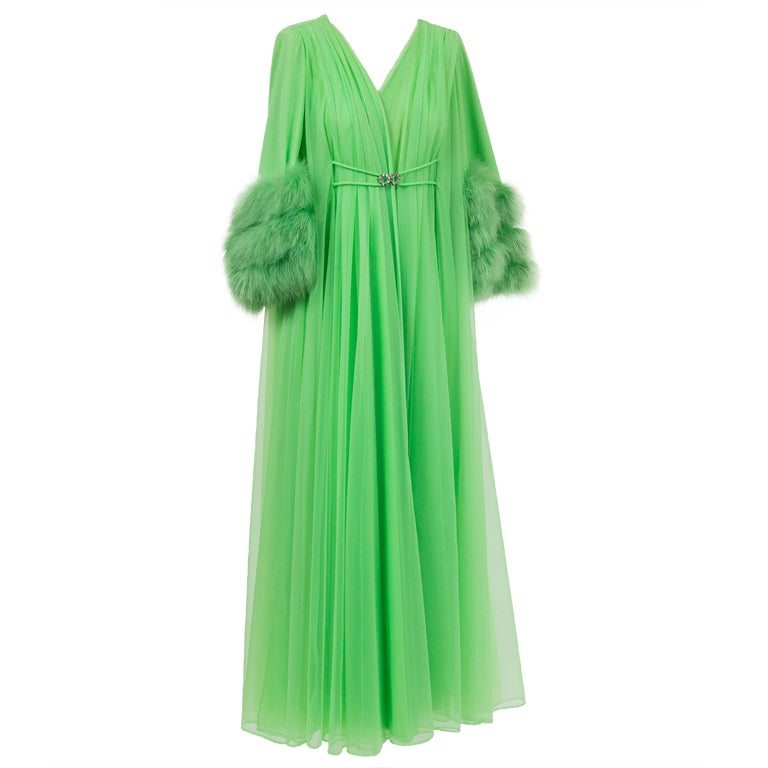 Hollywood Glam 1970 S Dressing Gown Lounge Coat At 1stdibs