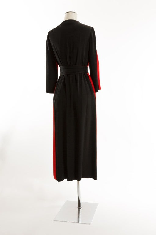 1950 S Mollie Parnis Hostess Or Evening Wrap Gown For Sale