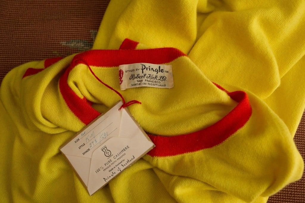 1970 S Pringle Of Scotland Cashmere Dress At 1stdibs