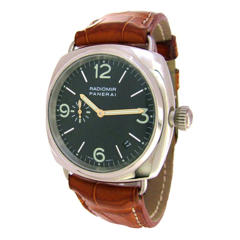 PANERAI White Gold Radiomir PAM 62 Wristwatch at 1stdibs