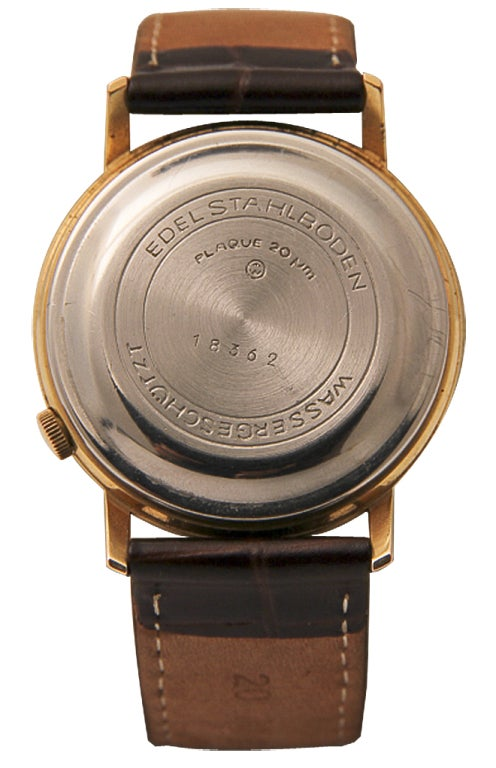 RUHLA Rare Gilt and Steel Electric Wristwatch 2