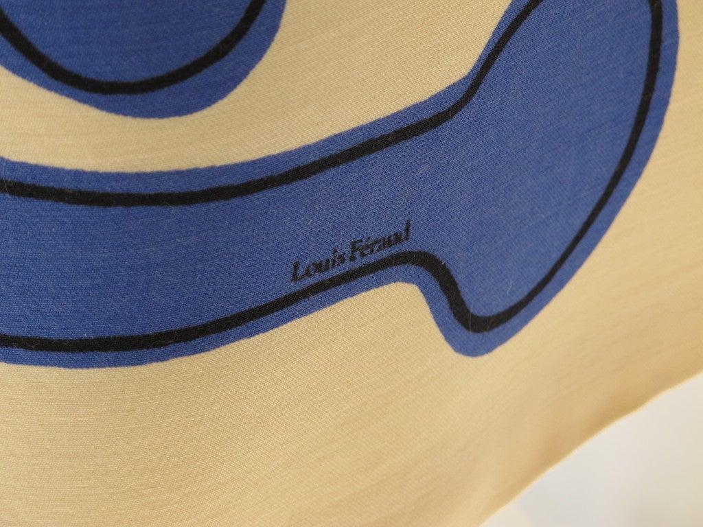 1960s Louis Feraud Wool Geometric Dress 5