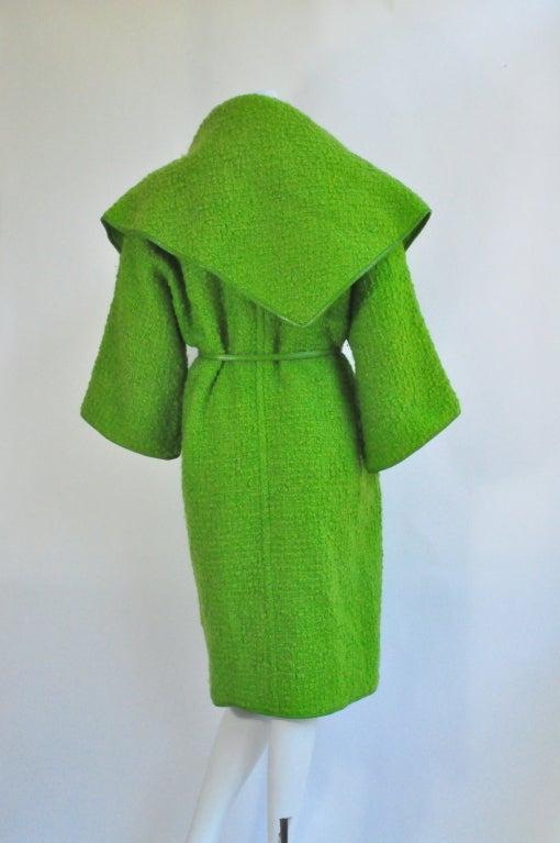 Vintage Bonnie Cashin for Sills Boucle Wool Coat, c. 1960s 2
