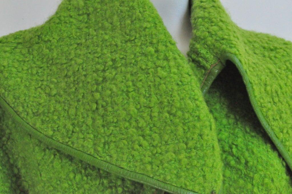 Vintage Bonnie Cashin for Sills Boucle Wool Coat, c. 1960s 4