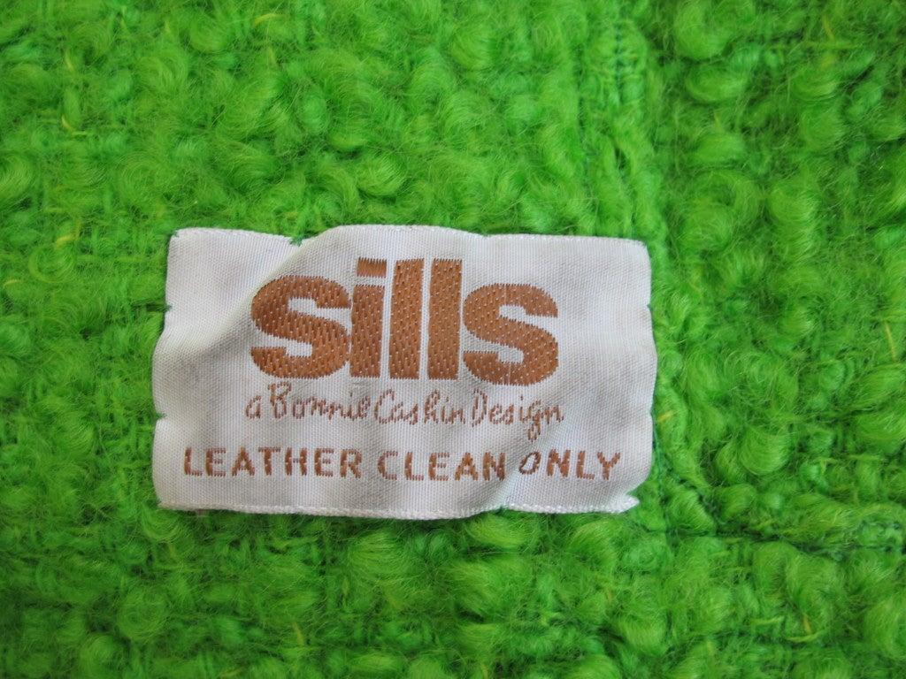 Vintage Bonnie Cashin for Sills Boucle Wool Coat, c. 1960s 6