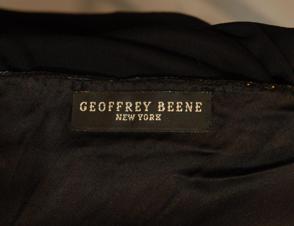 Geoffrey Beene One-Shoulder Evening Gown w/Sequin Detail image 4