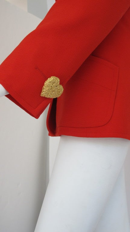 Vintage Yves Saint Laurent Rive Gauche Jacket image 3