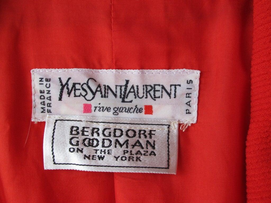 Vintage Yves Saint Laurent Rive Gauche Jacket image 4