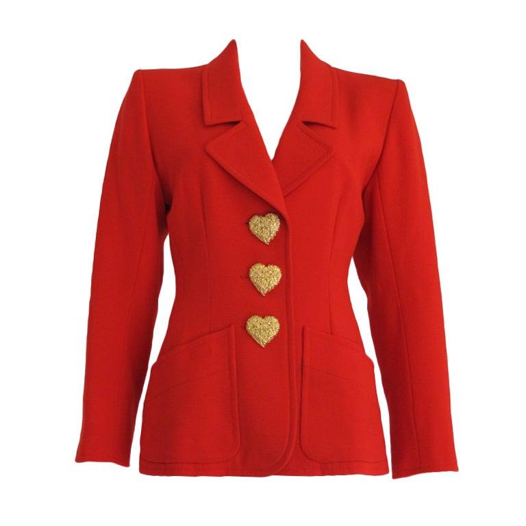 Vintage Yves Saint Laurent Rive Gauche Jacket