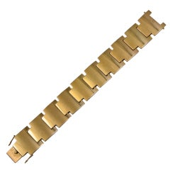Gold Bracelet By Georg Jensen