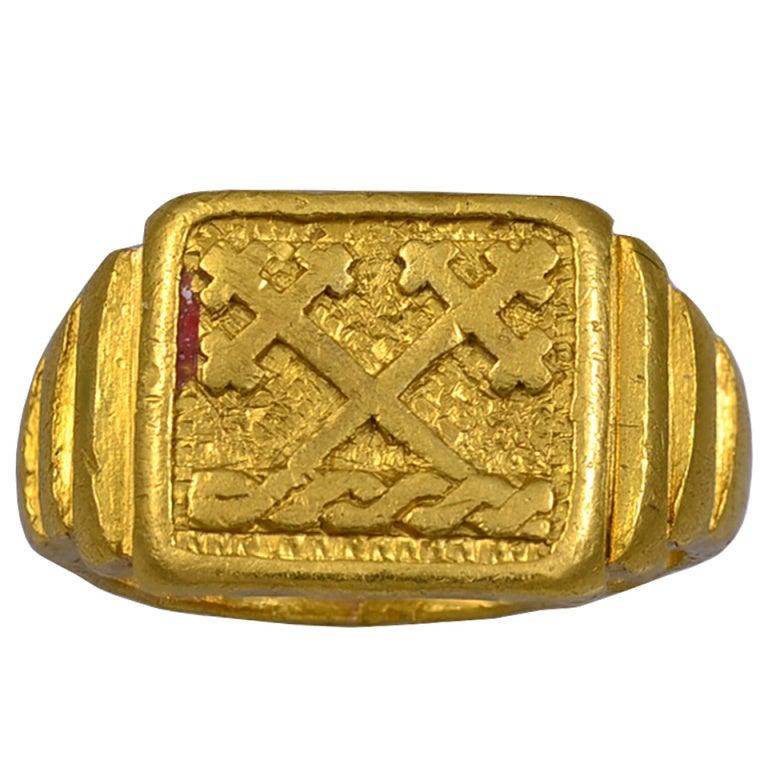 Christian Signet Ring