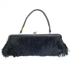 1960s Fringed Bag