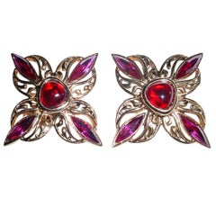 Jean-Louis Scherrer Paris earrings