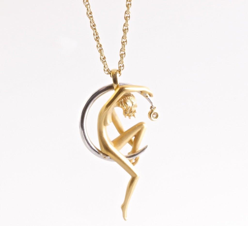 Carrera y carrera diamond gold necklace at 1stdibs