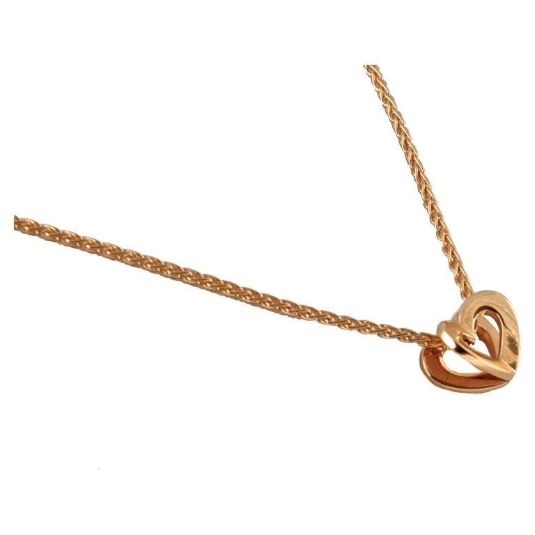 asprey gold necklace at 1stdibs