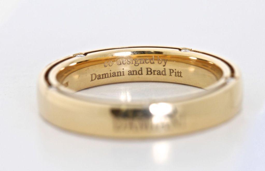 Women's DAMIANI 10 Diamond Gold Unity Ring For Sale