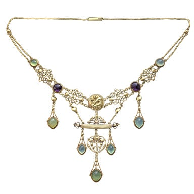 Henry Wilson The Apollo Rare Art Nouveau Necklace At 1stdibs