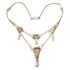 ARCHIBALD KNOX Rare Liberty & Co Art Nouveau Necklace