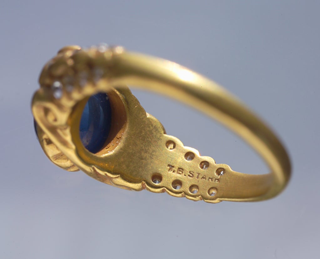 Theodore B Starr Superb Architectural Ring At 1stdibs