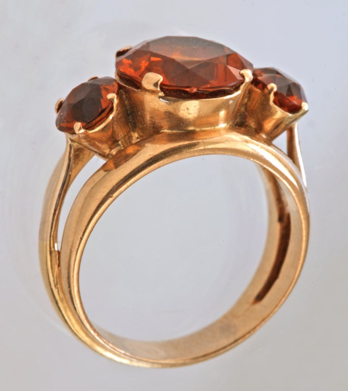 Cf Sze L The Deco Haus: JEAN FOUQUET Modernist Ring At 1stdibs