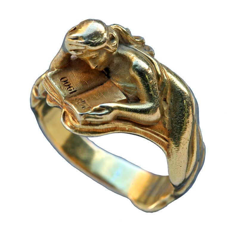 Louis Zorra Art Nouveau Ring At 1stdibs