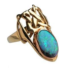 ARCHIBALD KNOX Art Nouveau Ring