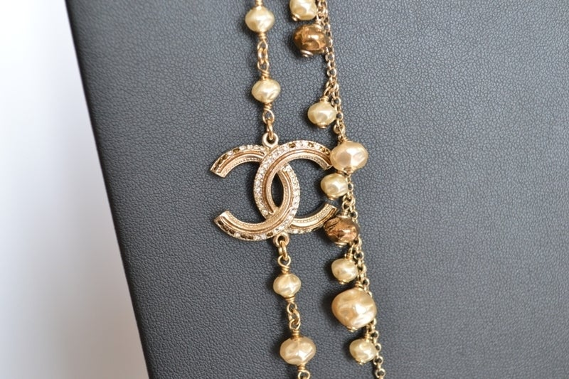 Chanel necklace Strass Balls image 7