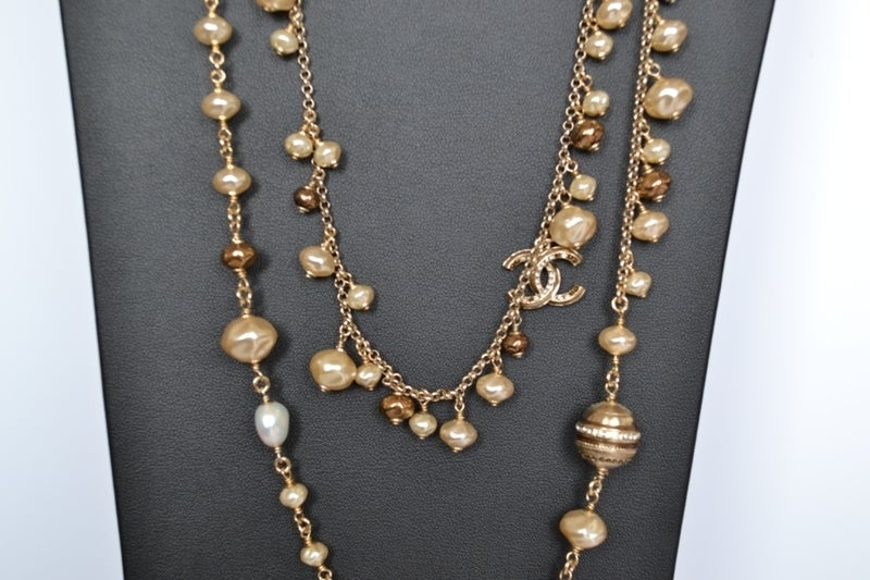 Chanel necklace Strass Balls image 8