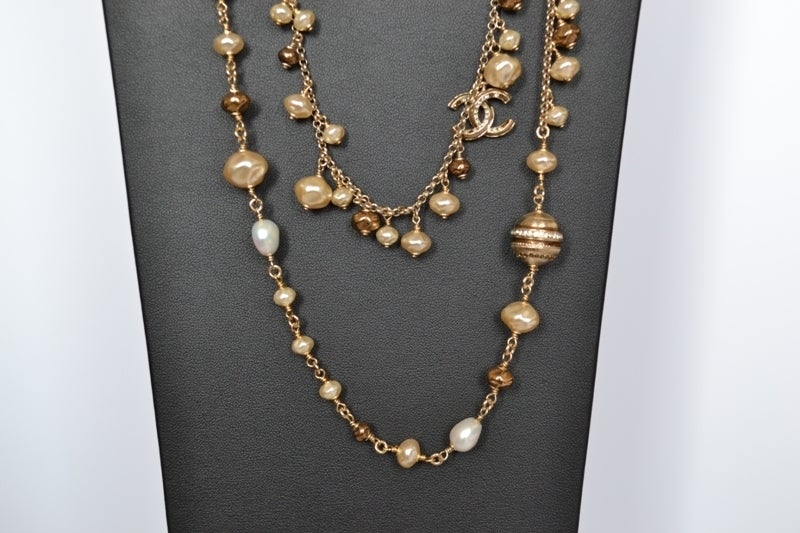 Chanel necklace Strass Balls image 9