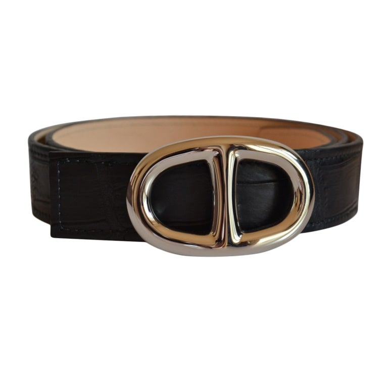 Authentic Hermes buckle Chaine d'Ancre at 1stdibs