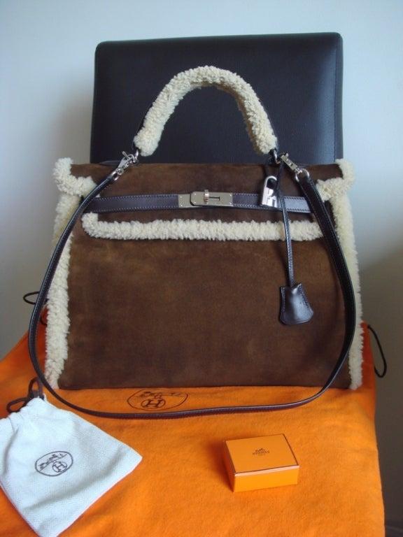 ede3b8a9ae hermes messenger bag - Hermes Kelly Cut in Gris Tourterelle Crocodile with Gold  Hardware .