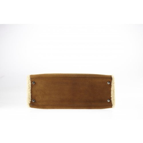 brighton knockoffs - Exceptional Hermes Kelly 35 Teddy Plush Collector piece at 1stdibs