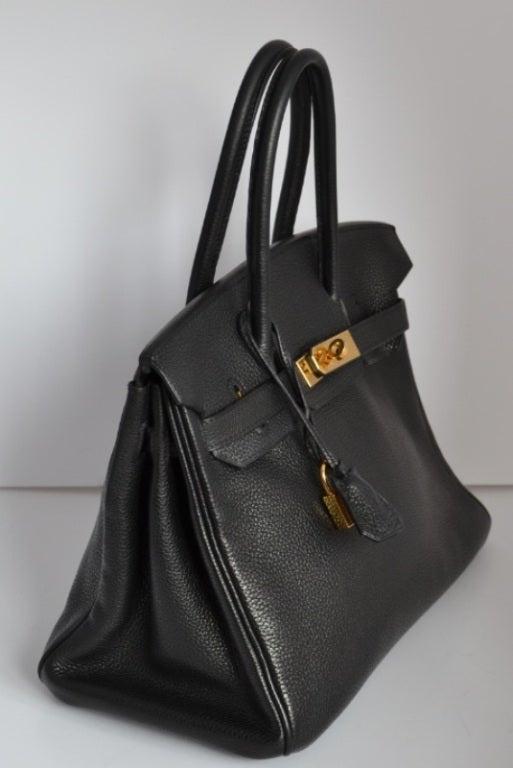 sac birkin hermes imitation - Hermes Birkin 30 Togo black Gold hardware at 1stdibs