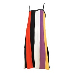 Color Panel Dress / YSL-1088