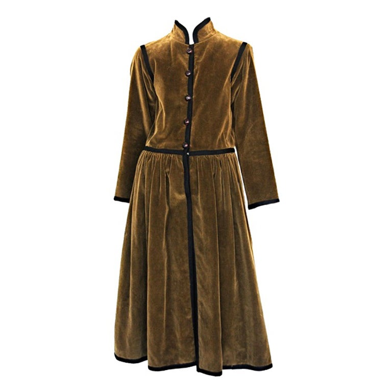 corduroy coat   ysl 1047 at 1stdibs Looking for You Clip Art People Looking Clip Art