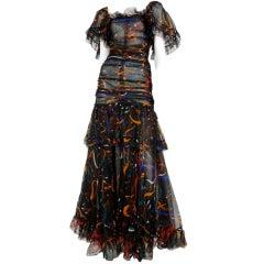 Organza Gown / YSL-1076
