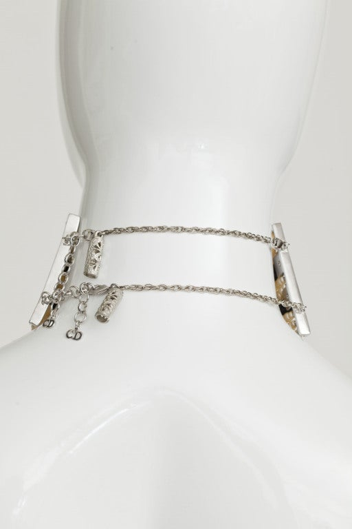 JOHN GALLIANO FOR CHRISTIAN DIOR MASSAI FAUX PEARLS NECKLACE image 4