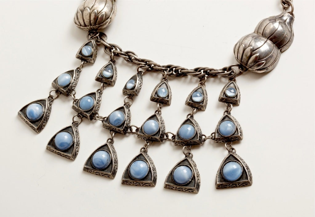 exceptional reinad  u0026 39 chanel u0026 39  necklace at 1stdibs