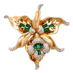 A Stunning 1940's Retro Brooch by Mazer