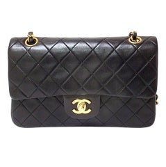 CHANEL Small Double Flap GHW 23CM Handbag
