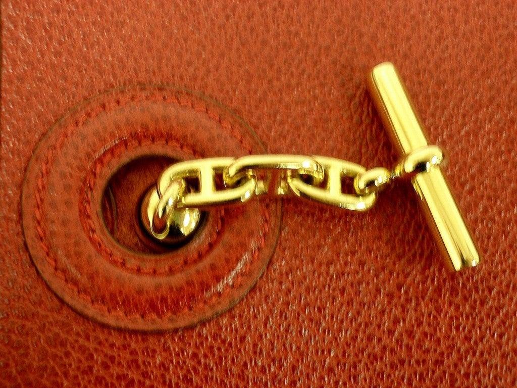 red hermes kelly bag - HERMES Vespa PM Red Vache Liegee Leather Shoulder Bag For Sale at ...