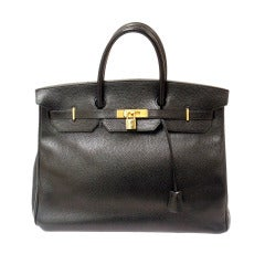 Hermes 40cm Black Ardinnes Birkin Handbag, Year 1995