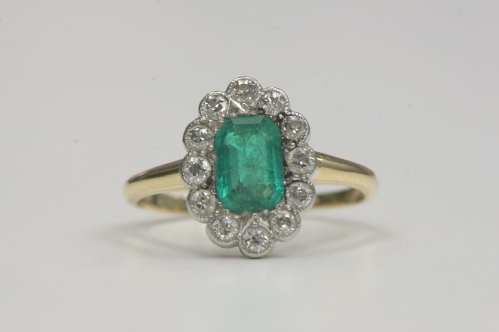 beautiful emerald ring at 1stdibs