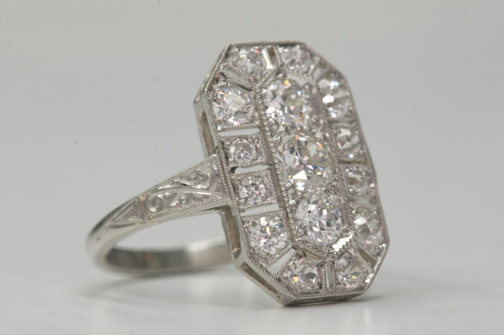 1920s Old European Cut Engagement Ring At 1stdibs