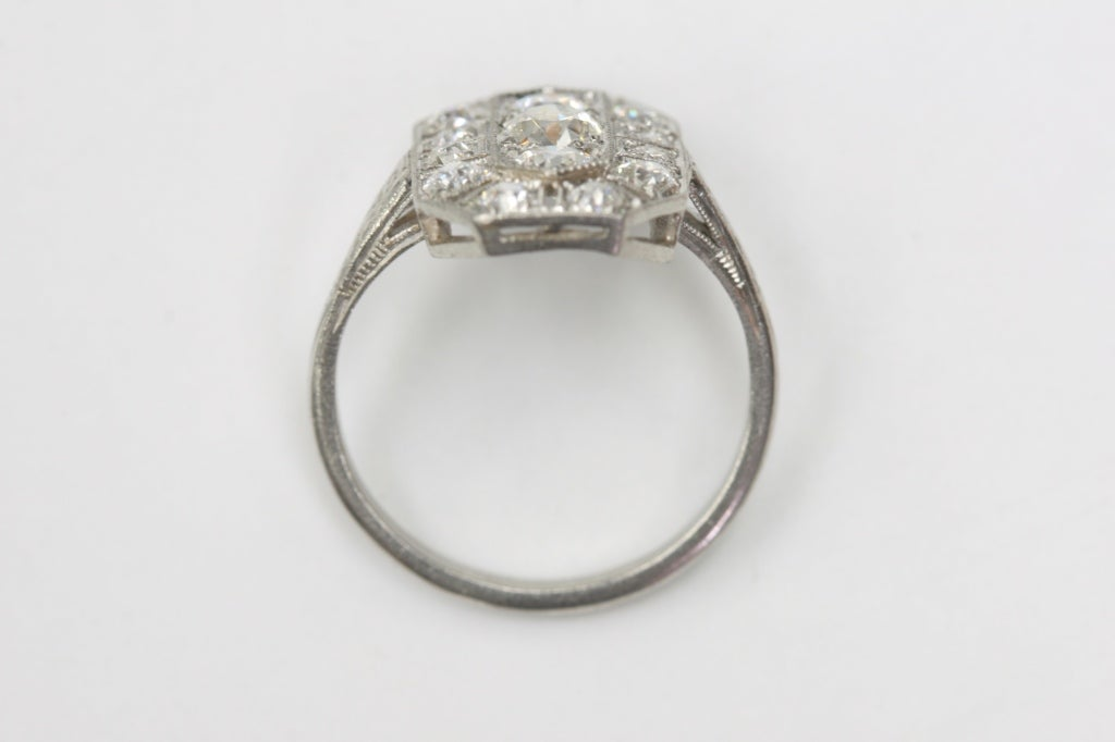 1920s Old European Cut Engagement Ring 3