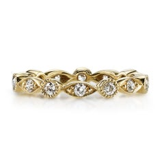 Vintage European Cut Eternity Band