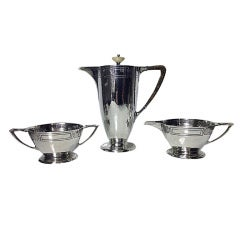 American Arts and Crafts Sterling Coffee Service