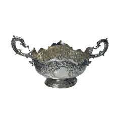 English Silver Centrepiece London 1900 Barnard